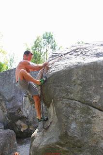 Steph dans la descente au 91.1, Trois Pignons, (C) 2014 Greg Clouzeau