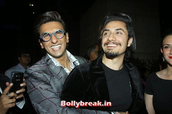 Ranveer Singh and Ali Zafar, Filmfare party Candid Pics - Huma, Deepika, Sonam