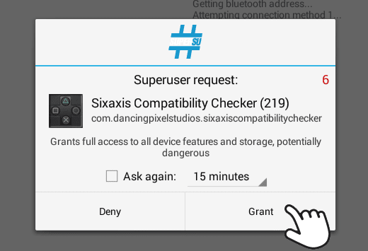 superuser request