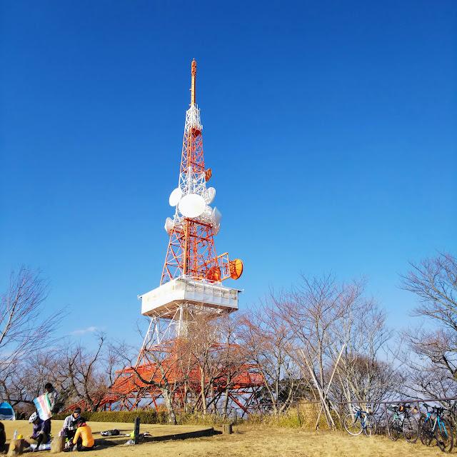 湘南平 高麗山公園 TV塔