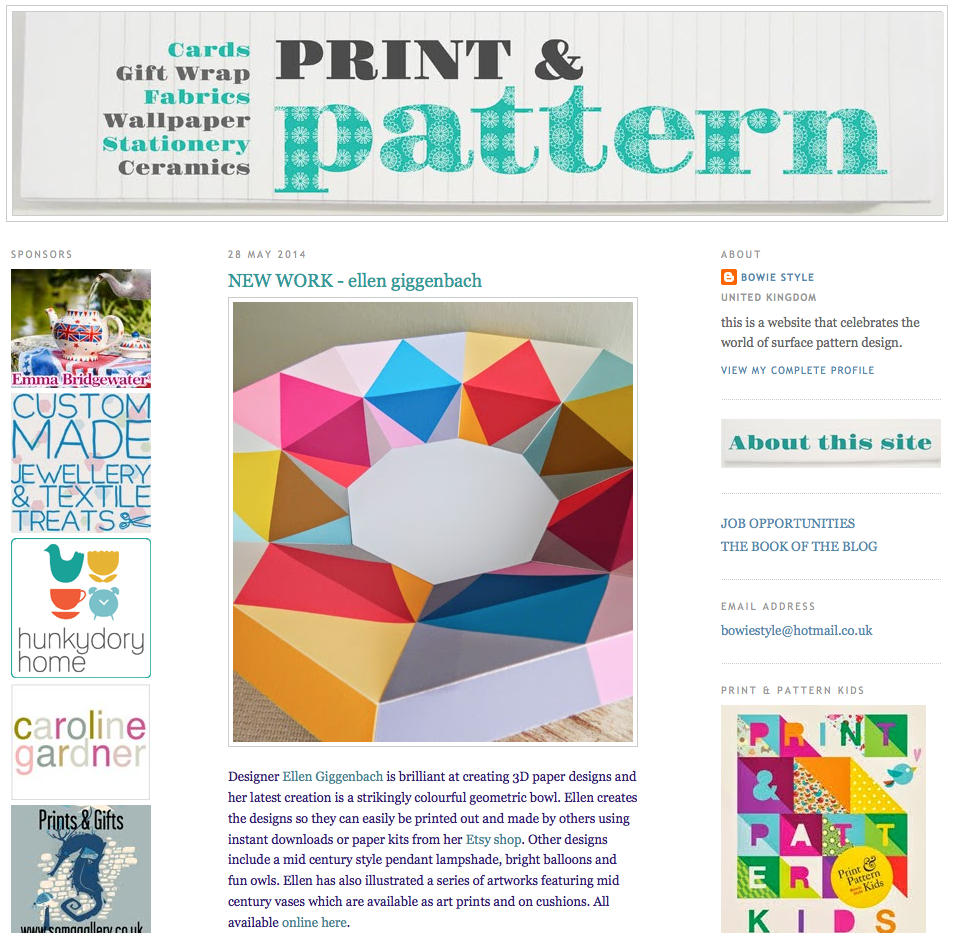 Latest on Print and Pattern