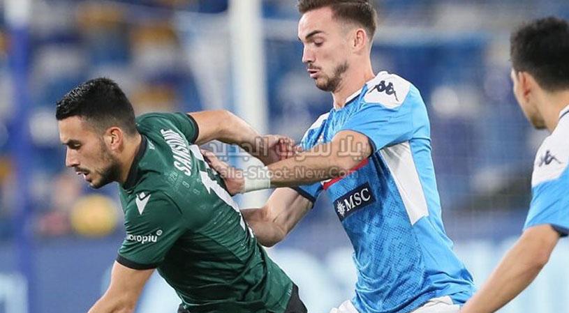 نادي بولونيا يفعلها ويحقق الفوز على فريق نابولي بهدفين لهدف في الدوري الايطالي