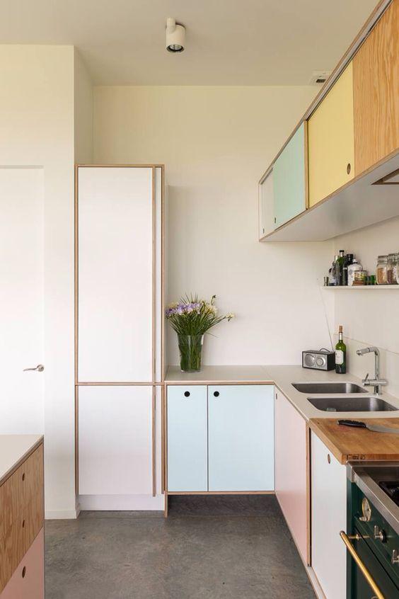 Ourso Designs: Trend Alert: Pastel Kitchens