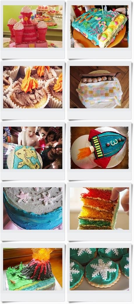 Birthday Cake Tutorials