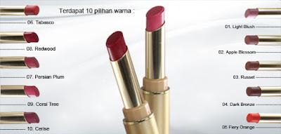 Review Lipstick Inez Perfect Glow Matte Redwood