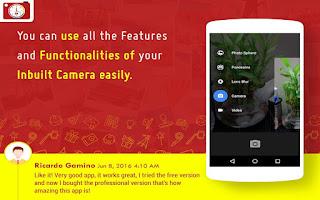 Stempel Otomatis untuk Foto App Android