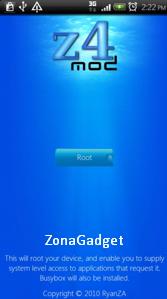 cara root android dengan z4root tanpa pc atau laptop