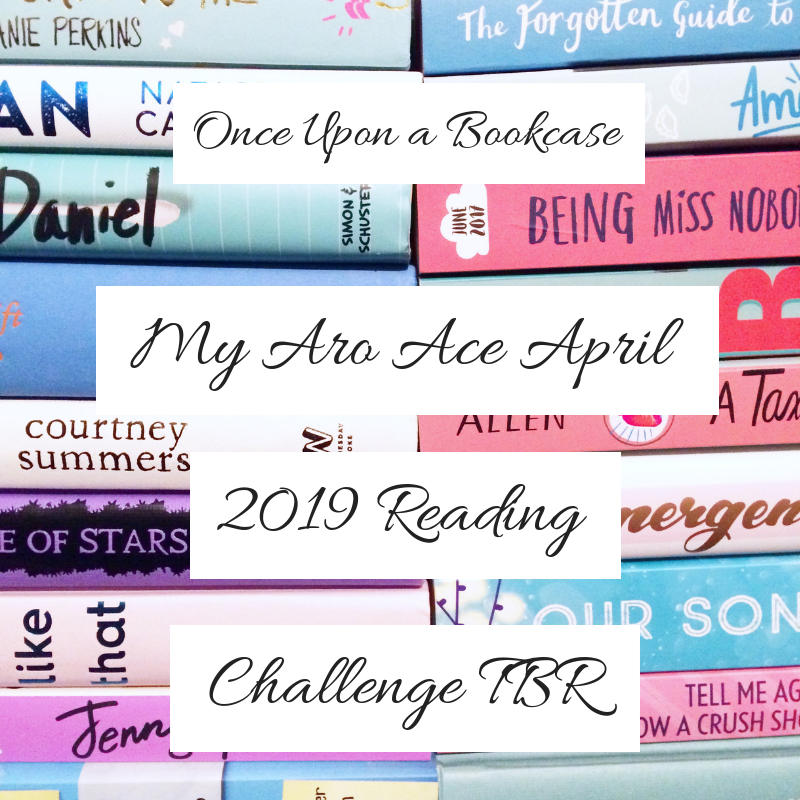 My Aro Ace April Reading Challenge TBR