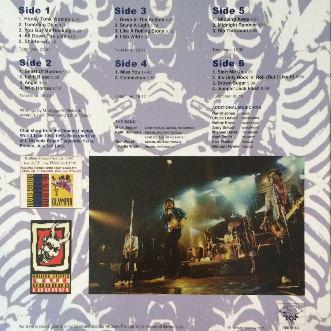 Rolling Stones Voodoo Brew Rar - linoajewel