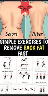 How To Tone Upper Body Remove Back Fat With These Amazing Exercises #fatburning