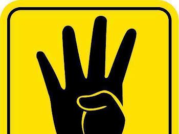 Maksud Simbol 4 Jari : R4BIA