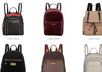 Nature Love Style's Calvin Klein Backpack Hot-List Sale