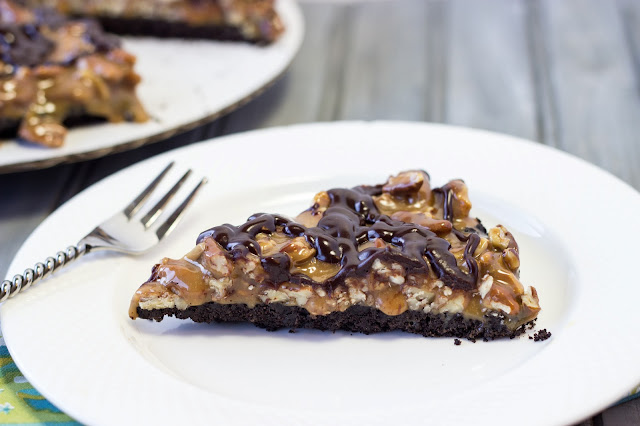 Gooey Chocolate Pecan Tart