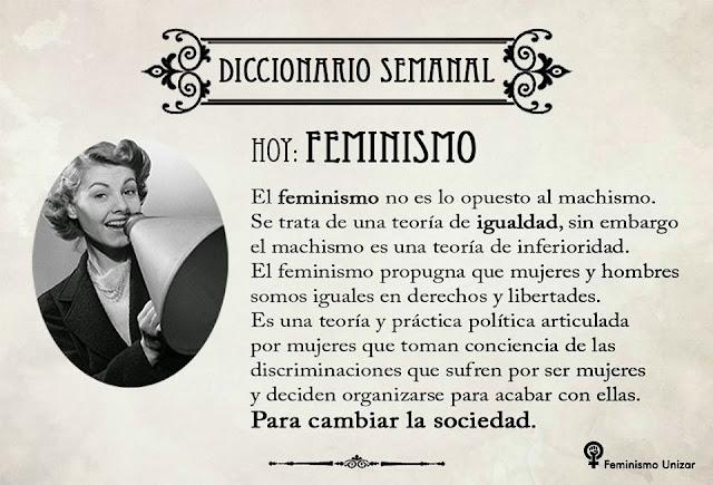definición de feminismo