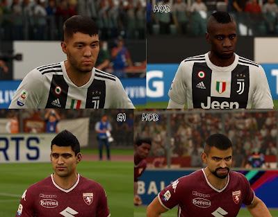 FIFA 19 Faces Minipack 2 by APasZ