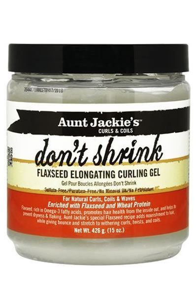 Currently Obsessed Aunt Jackie S Curls Amp Coils Don T Shrink Flaxseed Elongating Curling Gel
