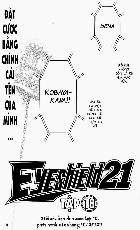 Eyeshield 21 chapter 151 trang 21