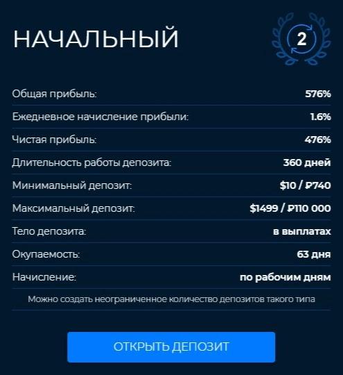 Инвестиционные планы Mirax Capital 2