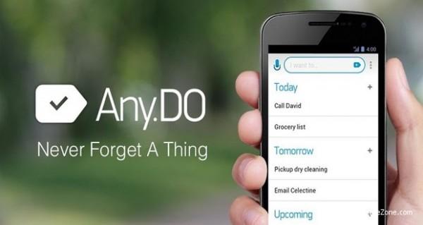 برنامج تنظيم الوقت المواعيد Any.do: