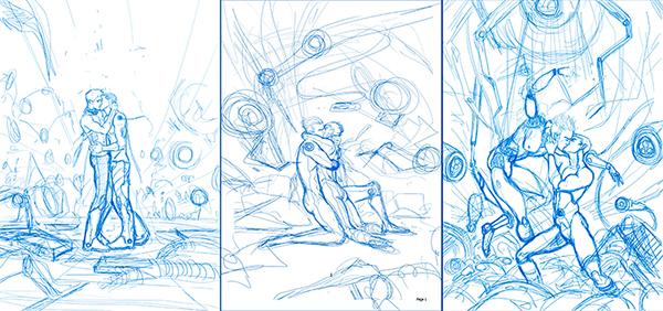 Digital illustration by jaxinto myth, gay art, comics and illustrations