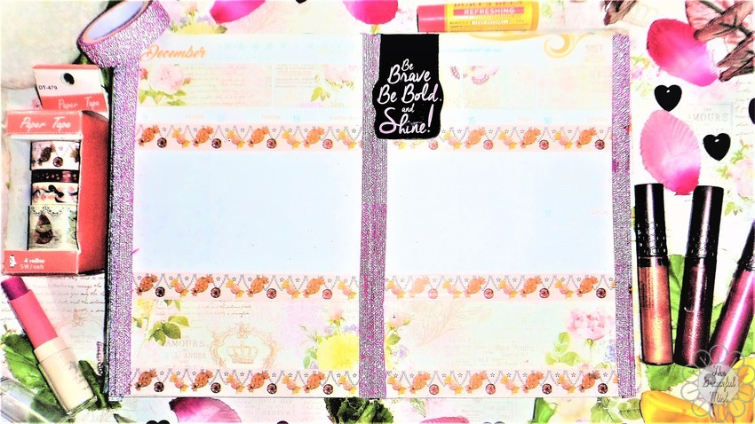 8 Weekly Planner Spreads | Ideas for the 2017 and 2018 Belle De Jour Power Planner (#BeforethePen) | Sweet Pink Floral Theme | by +The Graceful Mist (www.TheGracefulMist.com) - Beauty, Books, Fashion, Health, Lifestyle, Style, and Travel Blog/Website by Filipino - Filipina Blogger/Freelance Writer - @TheGracefulMist - Social Media Influencer - 2016 - 2017 - 2018 Belle De Jour Power Planner - Viviamo Inc. - Quezon City Philippines