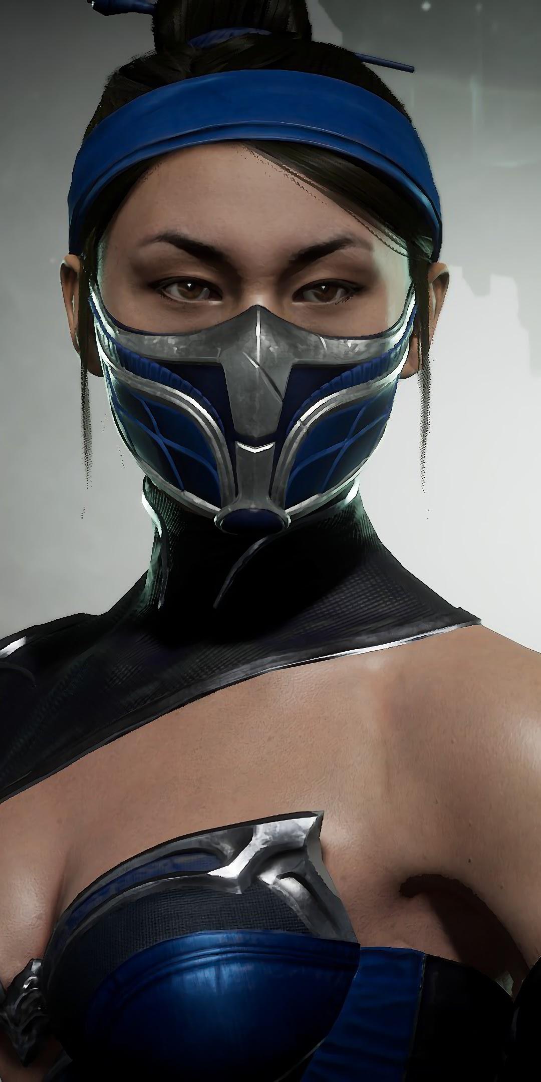 kitana without mask mortal kombat