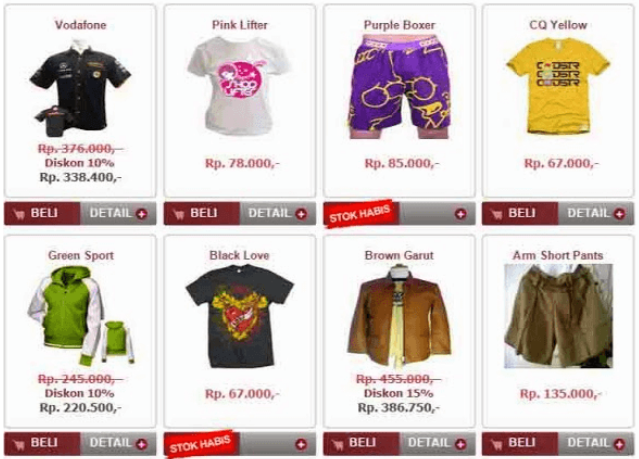 Skripsi E Commerce Berbasis Web Kumpulan Berbagai Skripsi