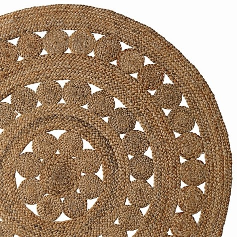 coastal decorating with round natural fiber rugs shop the look, braided jute rug round, grey jute rug round, jute round rug nz
