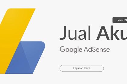 Situs Jual Beli Akun Google Adsense Termurah dan Terpercaya