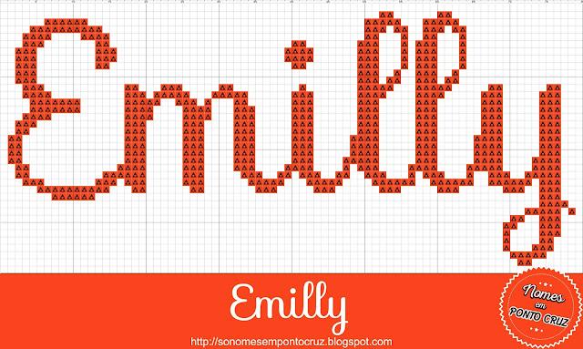 Nome Emilly em Ponto Cruz