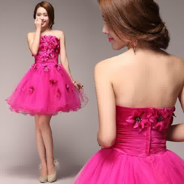Fuchsia Obsession Pink Wedding Dresses Uk