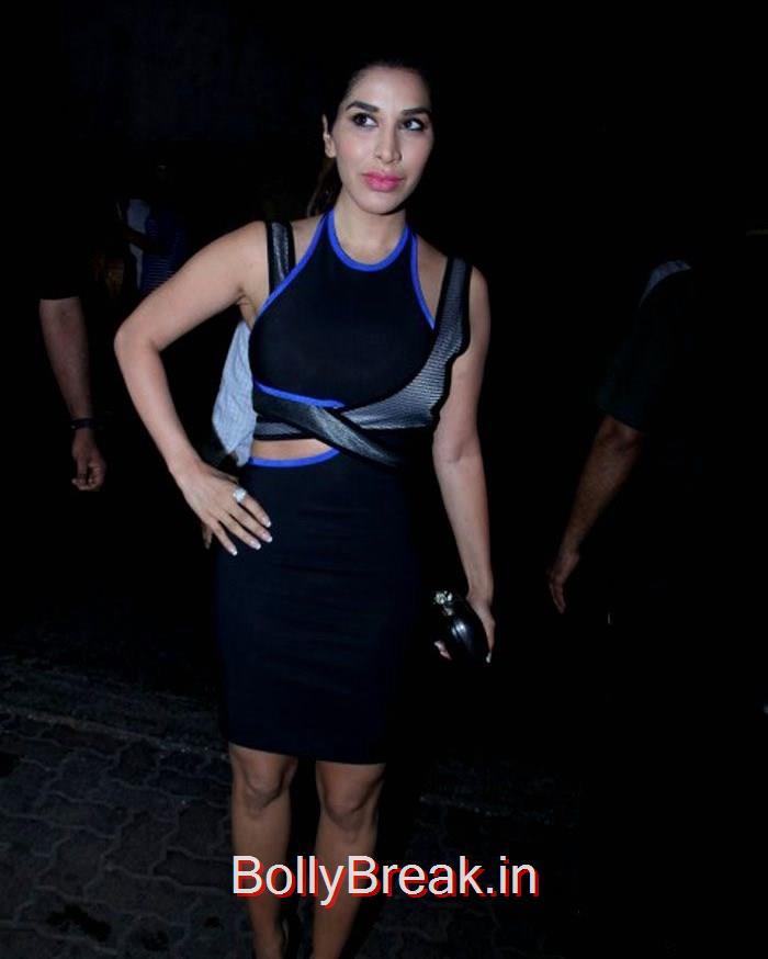 Sophie Choudry, Celebs At Deepika Padukone's Piku Grand Success Bash Photo Gallery