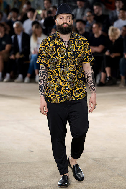 estampado tropical, blogger, fashion menswear, tendencia masculina, look inspiración, yunya watanabe
