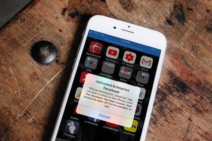 Cara Mengatasi Untrusted Enterprise Developer Pada iOS