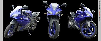 Yamaha YZF R125 Three looks