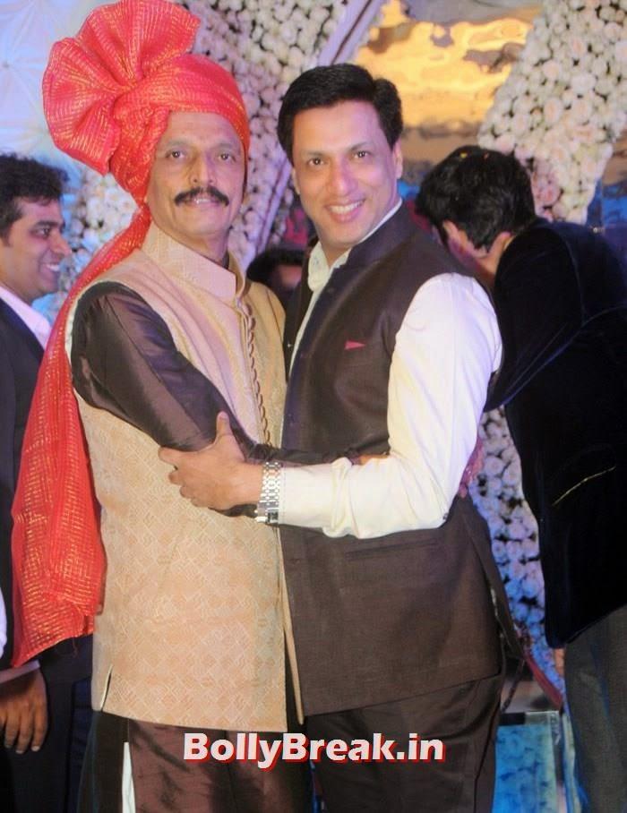 Bhai Jagtap, Madhur Bhandarkar, Manali Jagtap, Vicky Soor Engagement Ceremony Pics