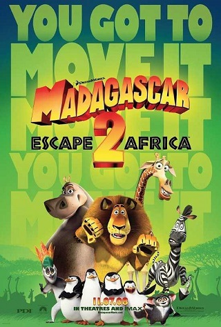 Madagascar Escape 2 Africa 2008 Dual Audio Hindi 700MB BluRay 720p