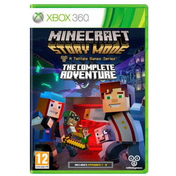[GAMES] Minecraft Story Mode The Complete Adventure – COMPLEX (XBOX360/PAL/NTSC-U)