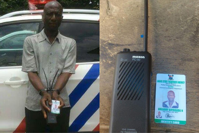 Fake Policeman Who Makes N15,000 Daily Arrested in Lagos
