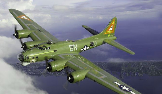 Boeing B-17 picture was developed in 1935