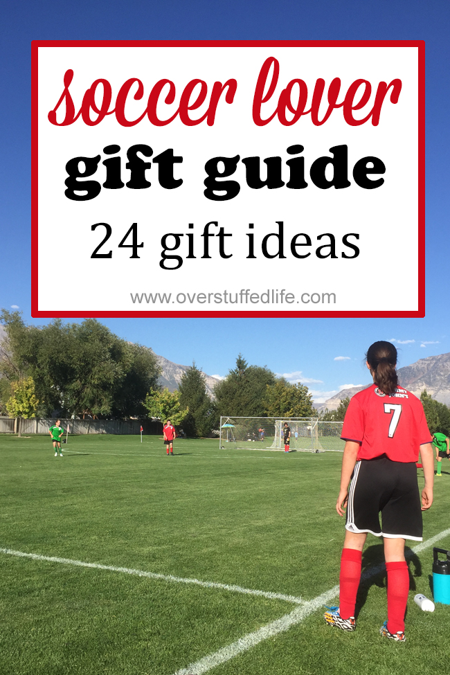 Do you have a kid that loves soccer? Check out this gift guide for several awesome gift ideas for soccer loving kids of all ages.