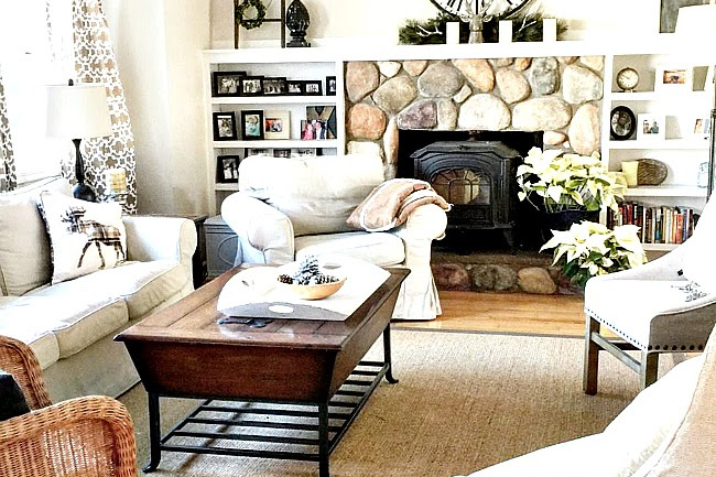 How to Paint a Large Coffee Table