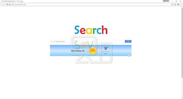 Chromesearch1.info (Hijacker)