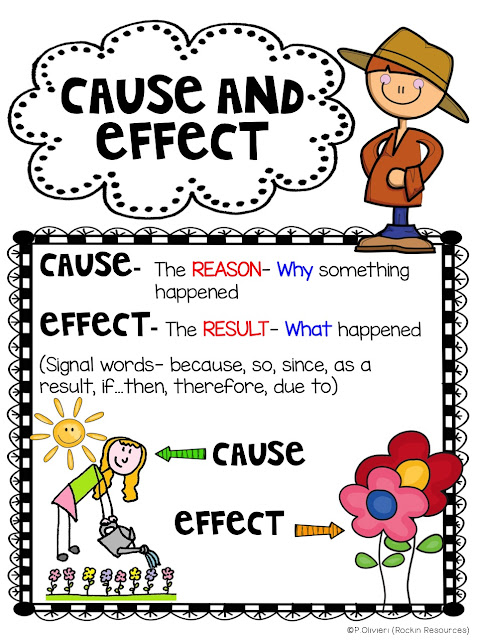 10 examples of cause and effect relationship worksheets