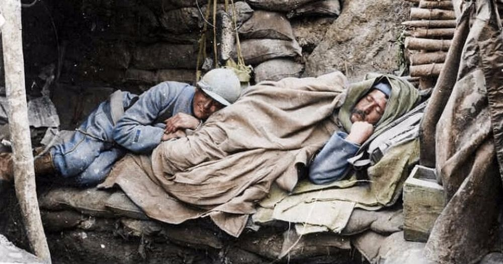Remarkable Colorized Photos Reveal What Life Was Like For French Soldiers During World War I