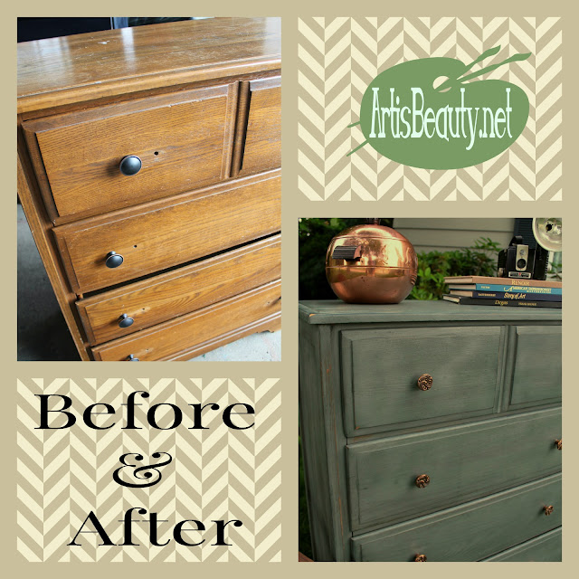 Art Is Beauty Before And After Manly Handsome Dresser