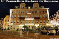 Hotelfotografie Aussenansicht hotel bei nacht fotografieren hollaender hof heidelberg