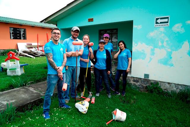 Voluntarios de Liberty Seguros compartieron momentos especiales con los niños de la Fundación Henry Davis