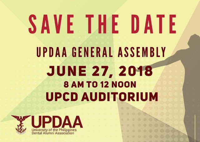 (UPDAA) UP Dental Alumni Association General Assembly