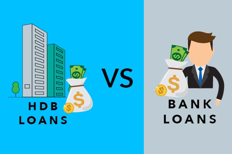 HDB loan vs Bank loan, info, bank loan, HDB loan,